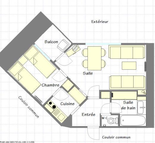 Location Appartement Vacances LA PLAGNE (5)