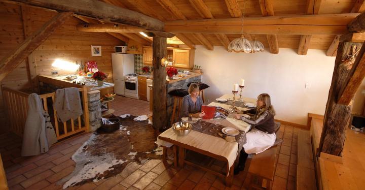 Location Chalet Vacances LA ROSIÈRE (12)