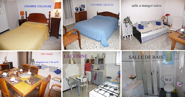 Appartement 3 pièces 6 personnes LAROQUE DES ALBÈRES